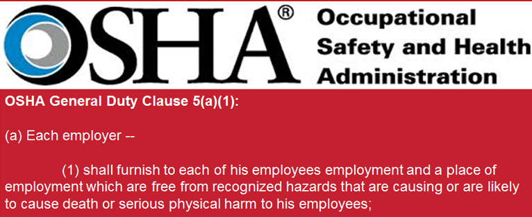osha the occupational health and safety The indiana occupational safety and health administration (iosha) is dedicated to ensuring hoosier workplace safety and health to be successful, iosha will improve workplace safety and.
