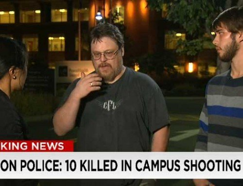Thoughts from the CNN Interview with Victim's Father- Umpqua Community College Shooting
