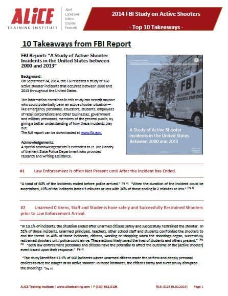 ATI FBI Report Takeaways