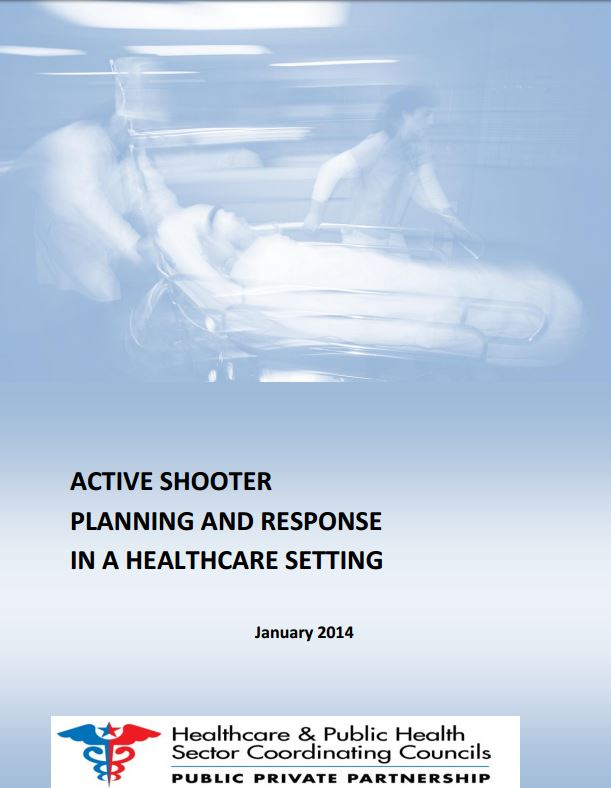 Active shooter planning and response in a healthcare setting picture