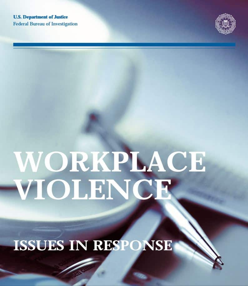 FBI Workplace Violence Issues in Response