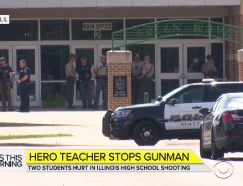 Hero Teacher Stops Shooter at Mattoon IL High School