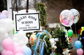 Sandy Hook Memorial - NY Daily News Photo